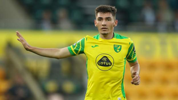 Billy Gilmour: Liverpool condemn alleged homophobic chants aimed at on-loan Norwich midfielder