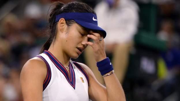 Emma Raducanu: US Open champion withdraws from Kremlin Cup - BBC Sport