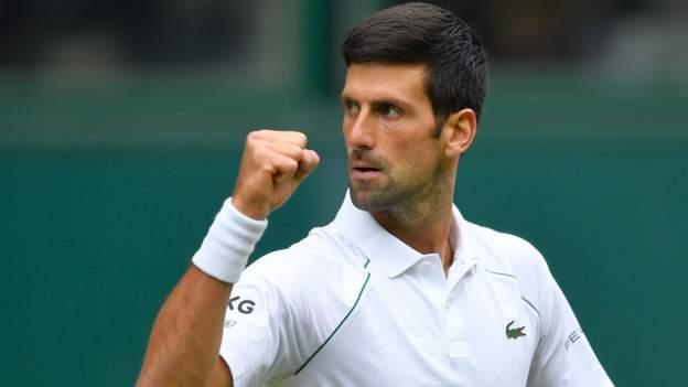 Wimbledon 2021: Novak Djokovic beats Kevin Anderson in straight sets to reach third round