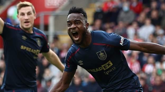 Ivorian Cornet scores twice as Burnley draw at Saints