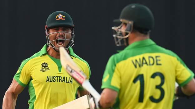 T20 World Cup: Australia beat South Africa in tense Super 12s opener