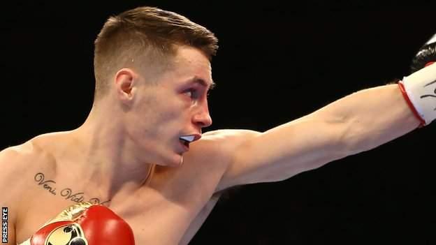 Ryan Burnett holds British and European titles at bantamweight