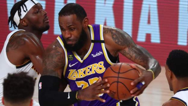 NBA: LeBron James leads LA Lakers to NBA Western Conference Finals series victory