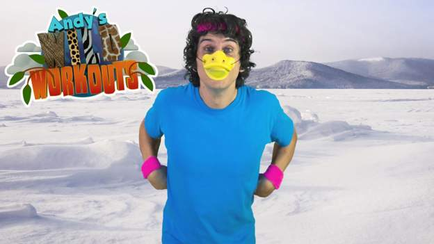 Andy's Wild Workouts: the Arctic - BBC Sport