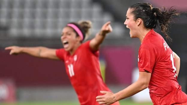 Canada beat USA to reach women's football final