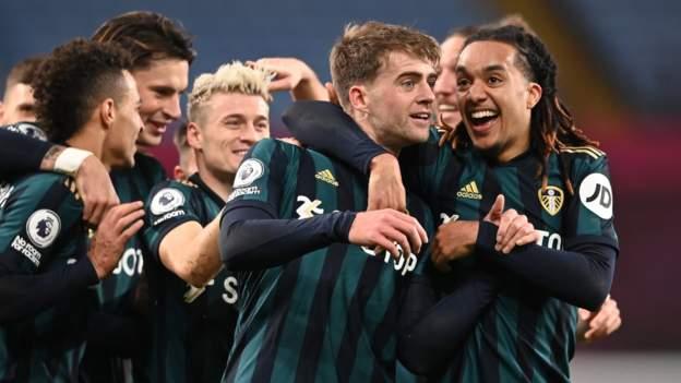 Aston Villa 0-3 Leeds: Patrick Bamford hat-trick ends hosts