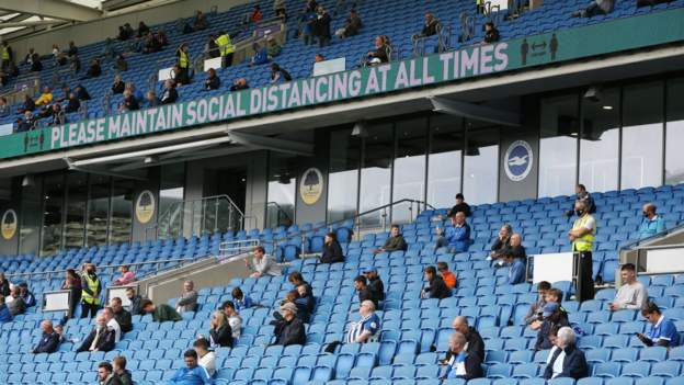 Coronavirus: Plans for fans to return to sport events in October called off