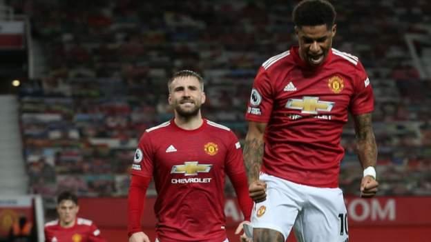 Manchester United 3-1 Newcastle United: Marcus Rashford memainkan fitur kunci dalam keamanan kawasan tinggal thumbnail