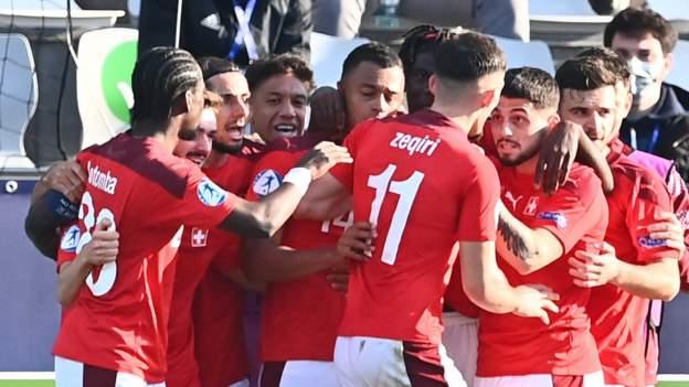 Inggris U21 0-1 Swiss U21: Singa Belia kalah pada pertandingan pembukaan di putaran final Euro U21 thumbnail