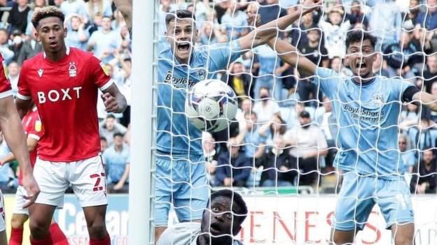 Coventry City 2-1 Nottingham Forest: Late Kyle McFadzean winner makes for magical Sky Blues home return
