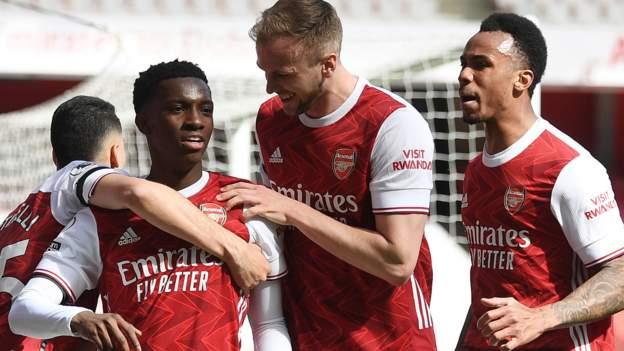 Arsenal 1-1 Fulham: Eddie Nketiah menyangkal Fulham harus mempertahankan pembelian Perserikatan Inggris thumbnail