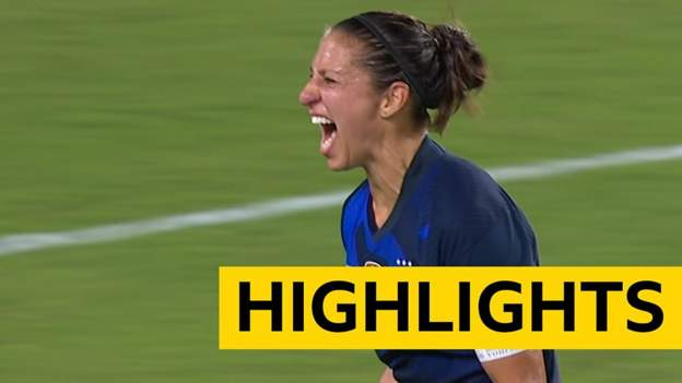 SheBelieves Cup highlights: USA 2-0 England