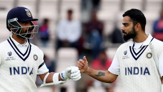 India captain Kohli blunts New Zealand in World Test Championship final
