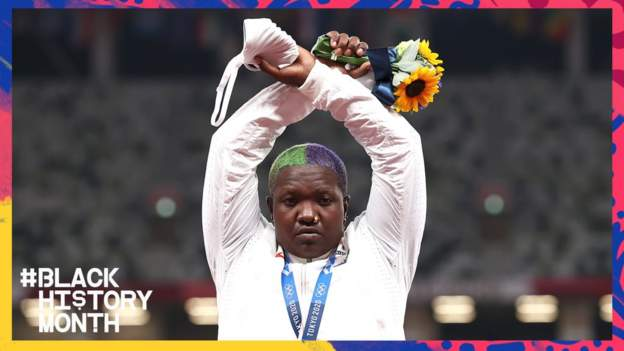 Raven Saunders: Olympic shot putter on the pandemic, mental health, and taking a stand in Tokyo