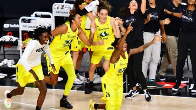 WNBA Finalleri: Seattle Storm, Las Vegas Aces'i yendi ve rekor kıran dördüncü şampiyonluğu elde etti