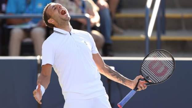 US Open: Dan Evans battles past Alexei Popyrin to reach fourth round