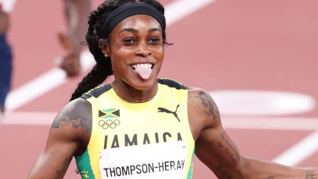 Tokyo Olympics: Elaine Thompson-Herah completes unprecedented 'double-double'