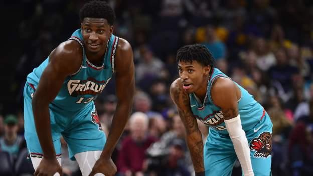 Memphis Grizzlies duo Ja Morant & Jaren Jackson Jr lead NBA plays of the week