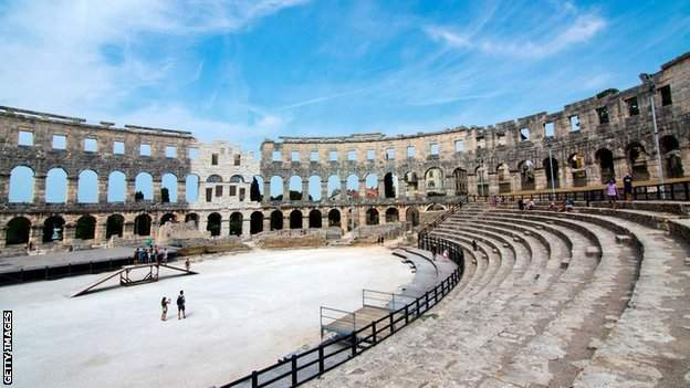 Pula Arena has staged big-name concerts