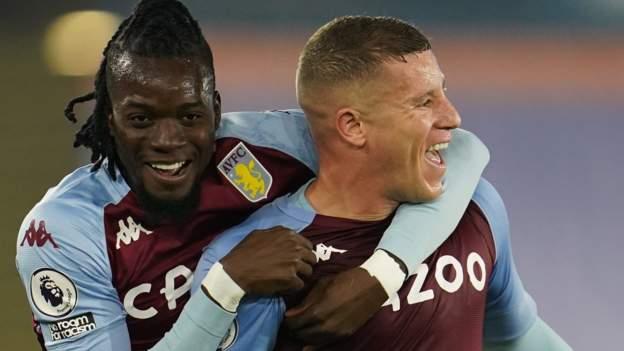 Late Barkley winner at Leicester sends Villa second