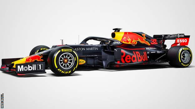 Red Bull have revealed the new paintwork which will feature on their 2019 car