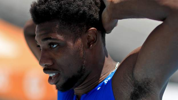 Lyles' 'world record' ruled 15m short