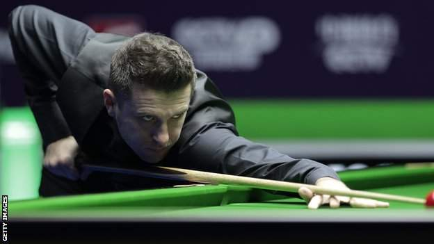 Mark Selby in action at the NI Open