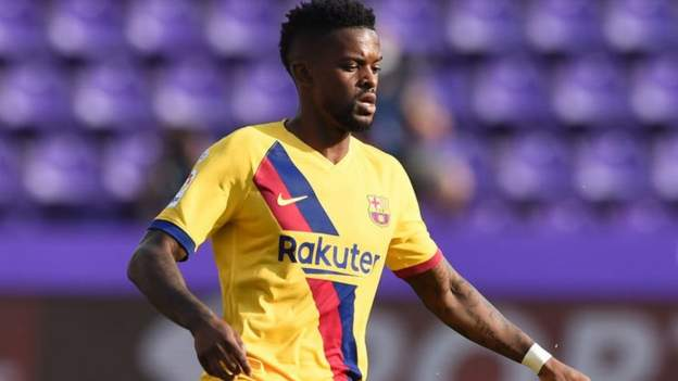 Nelson Semedo; Wolves and Barcelona in talks over £30m deal for defender - bbc