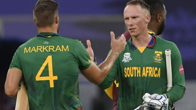 T20 World Cup: South Africa win as West Indies suffer second defeat