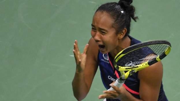 US Open: Leylah Fernandez beats Aryna Sabalenka to reach New York final