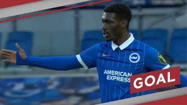 FA Cup: Yves Bissouma fires in Brighton opener against Blackpool - bbc