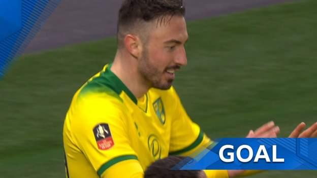 FA Cup: Josip Drmic bundles home Norwich equaliser after Michel Vorm error thumbnail
