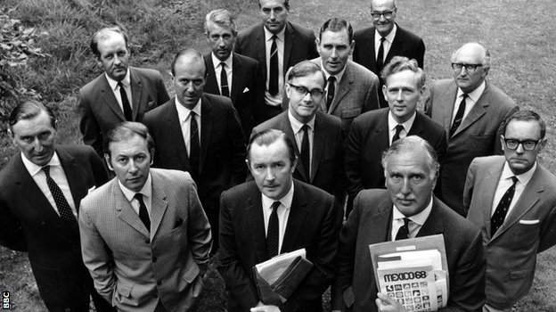 BBC team for the 1968 Mexico Olympics