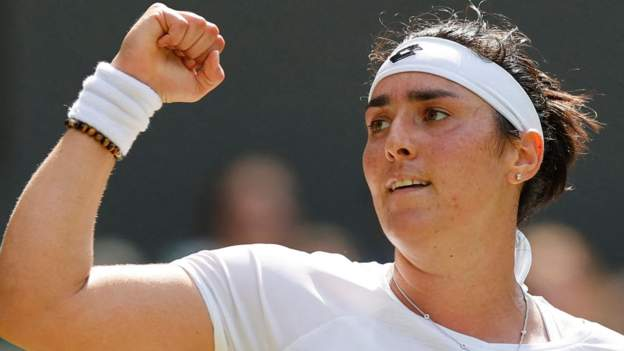 Wimbledon 2021: Tunisian Ons Jabeur beats seventh seed Iga Swiatek to reach quarter-finals