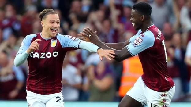 Villa put three past Everton to end unbeaten run