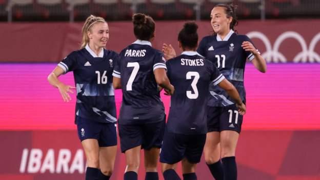 Sepak bola Olimpiade Wanita: Kru teratas tim GB setelah desain yang terlambat dengan Kanada thumbnail
