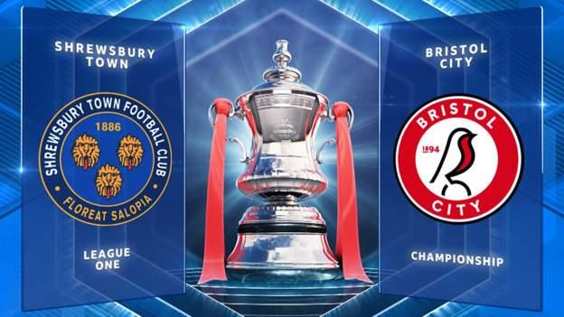 FA Cup: Shrewsbury Town 1-0 Bristol City highlights