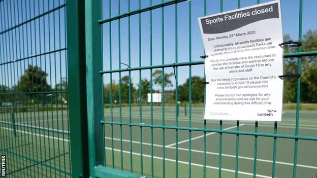 environment Closed tennis court