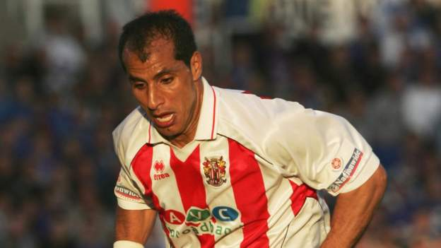Image of Dino Maamria playing for Stevenage