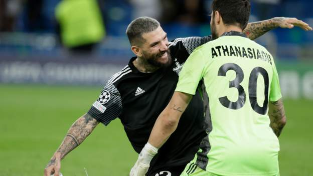 Debutants Sheriff stun Real Madrid