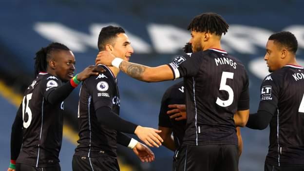 Leeds United 0-1 Aston Villa: Villa six points off top four after win - bbc