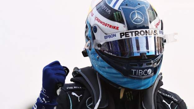 Italian Grand Prix: Valtteri Bottas beats Lewis Hamilton for F1 'sprint' race front row
