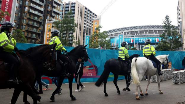 90 people arrested at England Euro 2020 games, new figures reveal