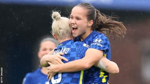 Chelsea 3-1 Brighton & Hove Albion: Champions continue fine start to WSL campaign
