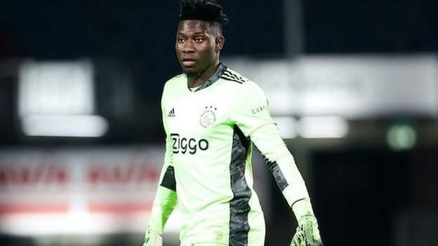 Andre Onana case to be heard at CAS on 2 June