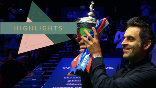Ronnie O'Sullivan: Highlights as 'The Rocket' won world title number six