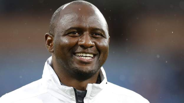 Patrick Vieira takes over as Crystal Palace manager