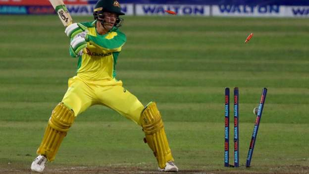 Bangladesh v Australia: Tourists bowled out for 62 in fifth T20 defeat