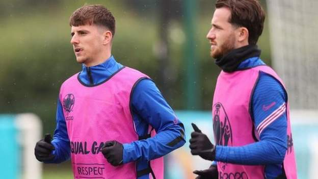 Mason Mount and Ben Chilwell out of England's Euro 2020 clash with Czech Republic