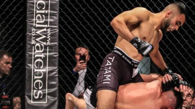 Faisal Malik: 'I want to take the UFC to Pakistan' says British-Asian MMA fighter looking to make history